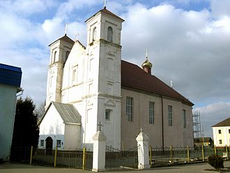 Kletsk - The former Dominican church dates from 1683.