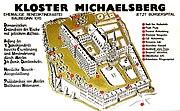 Kloster Michaelsberg Plan