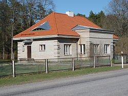Umwhile train station in Koikse.