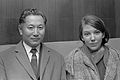 Koning en koningin van Sikkim (1966).jpg