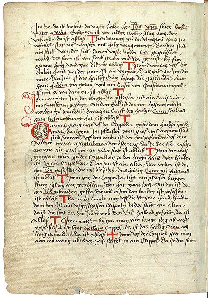 File:Konrad von Grünenberg - Beschreibung der Reise von Konstanz nach Jerusalem - Blatt 42v - 090.jpg