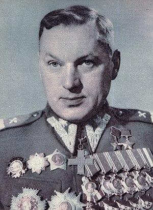 Konstantin Rokossovsky - Image: Konstanty Rokossowski w polskim mundurze