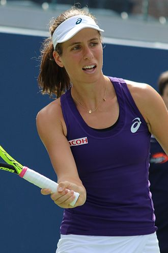 Johanna Konta - Konta at the 2016 US Open