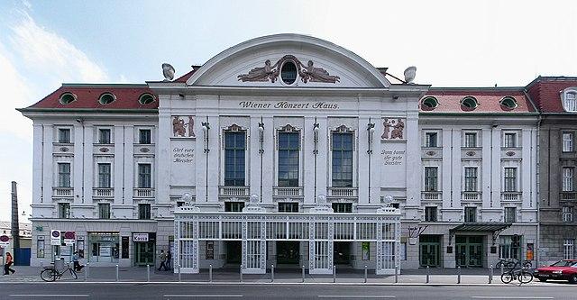Konzerthaus de Vienne