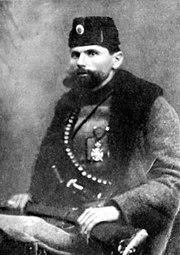 Kosta Pećanac probably around the time of the Balkan Wars 1912–1913