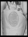 Kröningssko för drottning Desideria (1777-1860) - Livrustkammaren - 70844.tif