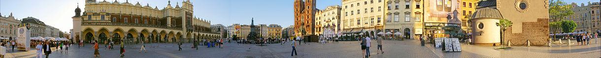 Panorama Rynku z okolic kościoła św. Wojciecha