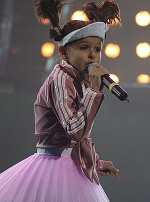 "Junior Eurovision Song Contest - Ksenia Sitnik claimed Belarus' first win in 2005 with ""My vmeste"". Her country's next victory was two years later with Alexey Zhigalkovich"