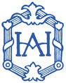 Księgarnia H. Alterberga logo 1909 blue.png