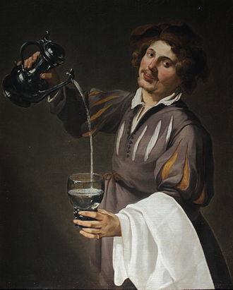Theodoor Rombouts - Allegory of temperance