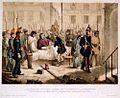 L'archevêque de Paris blessé, est transporté à l'archevêché.jpg