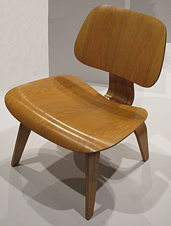 Eames Lounge Chair Wood chair designed by Charles and Ray Eames