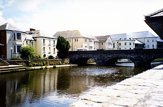 "Haverfordwest - The ""New"" Bridge at Haverfordwest"