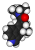 3D representation of an LSD molecule