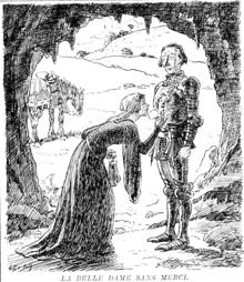 summary of la belle dame sans merci by john keats