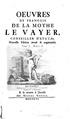 La Mothe Le Vayer - Œuvres, Tome 1, Partie 2, 1756.pdf