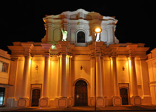 Cathedral Basilica of Our Lady of the Assumption, Popayán Church in Popayán, Colombia