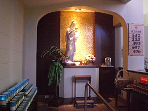 Holy Rosary Church, Guelph - Image: Lady Chapel, Holy Rosary Church, Guelph