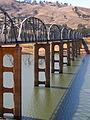 Lake Hume - Bethanga Bridge at Bellbridge on the Murray River - 6502.jpg