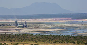 Lake Magadi - Image: Lake Magadi 2014