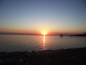 Lake Pontchatrain From Southbound Causeway Entrance.jpg