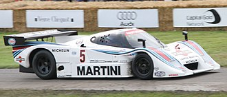 1983 World Sportscar Championship - Lancia placed second in the Championship with the LC2