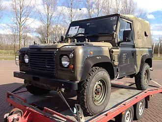 Land Rover Wolf - Land Rover Wolf 90 soft top just after release from British army in Germany.
