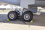 Landing gear on RAAF (A39-002) Airbus KC-30A (A330-203MRTT) on display at the 2013 Avalon Airshow.jpg