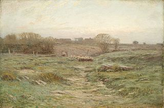 Landscape (Sheep in the Valley)