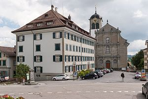 Trogen - Zellweger Palace and Church