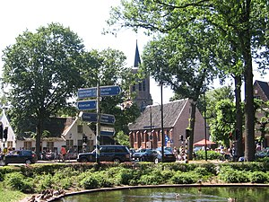 Laren, North Holland - Laren town centre