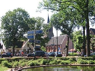 Laren, North Holland - Laren town centre