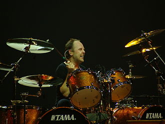 Lars Ulrich - Ulrich in Madrid in 2009