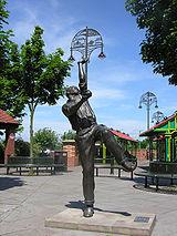 National and County cricket player Harold Larwood.