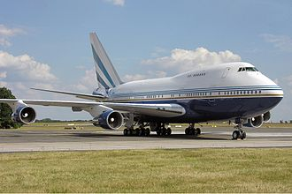 Las Vegas Sands - One of the two Sands Boeing 747SP aircraft.
