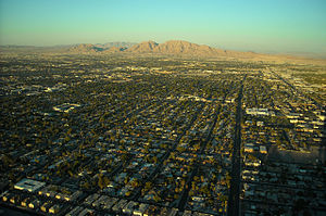 Paradise, Nevada - Neighborhoods on the east side of Paradise