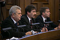 Latvijas Republikas proklamēšanas 95. gadadienai veltītā Saeimas svinīgā sēde (10923721845).jpg