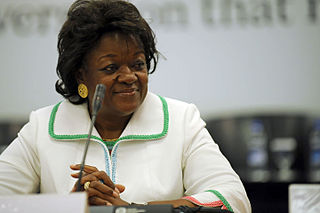 Laure Olga Gondjout Gabonese politician