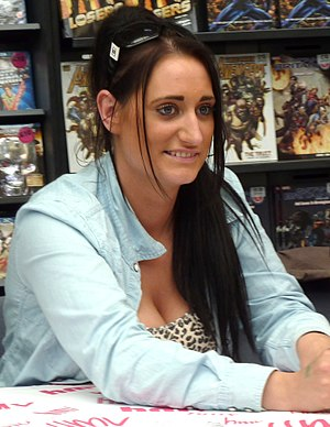 Kelly Bailey (Misfits) - Lauren Socha (pictured) uses her natural Derby accent for the part which she discussed with production on how strong to make.