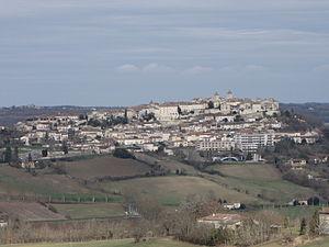 Lauzerte - A general view of Lauzerte
