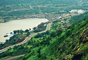 Lavasa - View of Lavasa hills
