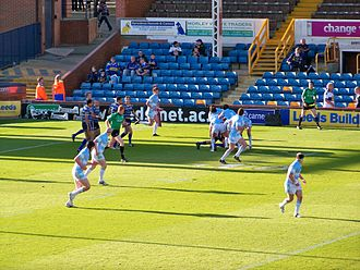 Hull F.C. - Hull F.C. facing Leeds at Headingley, May 2009