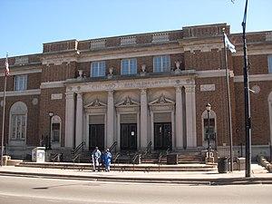 Henry E. Legler Regional Branch of the Chicago Public Library - Image: Leglerlibrary