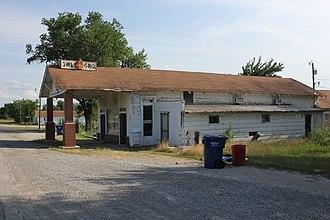 Lehigh, Oklahoma - Owl Grocery in Lehigh, 2012