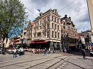 Amsterdam-Centrum - Image: Leidseplein hoek Leidsestraat foto 1