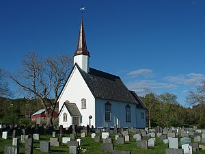 Leksvik Church - Image: Leksvik church Norway
