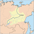 Lena River and Lake Baikal