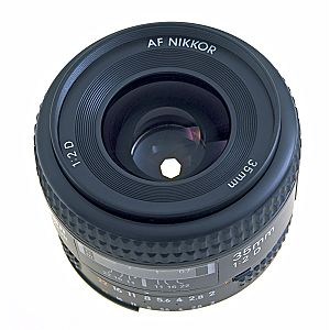 Diaphragm (optics) - A 35 mm lens set to f/8; the diameter of the seven-sided entrance pupil, the virtual image of the opening in the iris diaphragm, is 4.375 mm