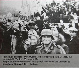 Estonian Soviet Socialist Republic - Tallin, 28 August 1941