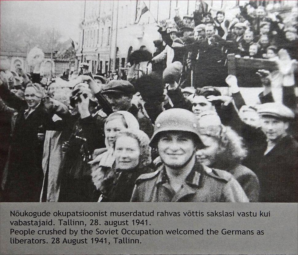 Lentrée de larmée allemande en Estonie en 1941 (7622403826)